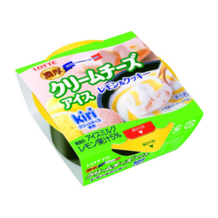 kiriの濃厚クリームチーズアイスの新作!(ローソン)